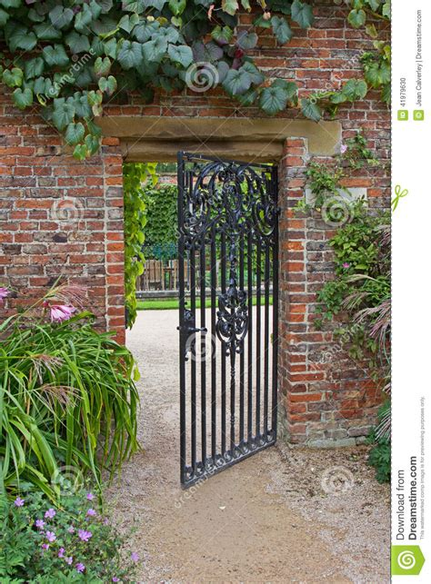 Wrought Iron Gate In Garden Stock Photo  Image Of Autumn. Walnut Kitchen Countertops. Kitchen Wall Colors With Wood Cabinets. White Kitchen Cabinets With White Countertops. Kitchen With Hardwood Floor Pictures. Best Color Kitchen Cabinets For Resale. Unique Kitchen Backsplash. Pine Kitchen Countertop. Kitchen Countertops Milwaukee
