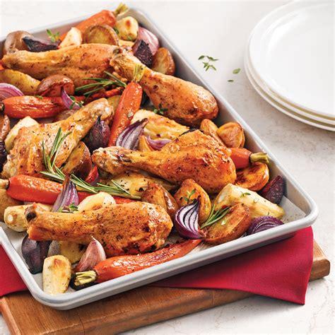 cuisine des legumes pilons de poulet aux légumes racines recettes cuisine