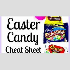 Easter Candy Cheat Sheet For Those Of Us On The New Weight Watchers Beyond The Scale Plan With
