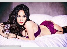 Megan Fox poses in Frederick's of Hollywood lingerie pics
