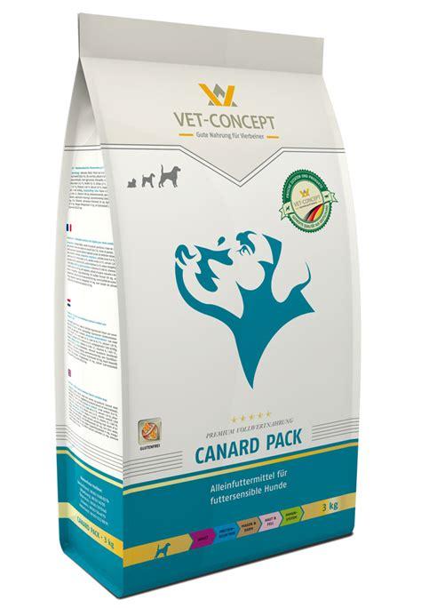 canard pack trockennahrung vet concept gmbh  kg