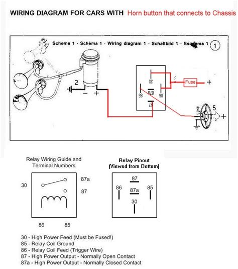 Wiring Air Horn Good Electricians Advice Appreciated