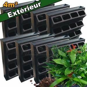 Mur Végétal Extérieur : 8 kits mur v g tal ext rieur vertiss plus 80x60x20cm avec ~ Premium-room.com Idées de Décoration