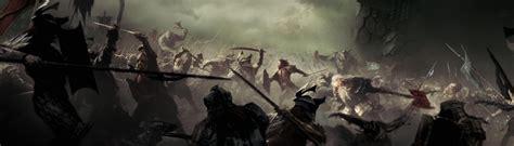 fierce battle  dale  erebor rages   volley