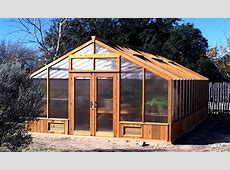 Greenhouse Kits by CedarBuilt