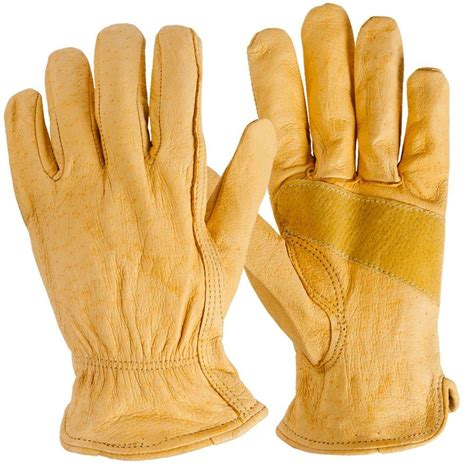 Cowhide Leather Gloves by True Grip Large Cowhide Leather Gloves 9323 26 The