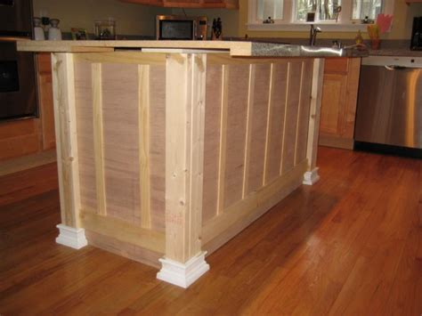 how to make a kitchen island out of base cabinets building a kitchen island from scratch woodworking