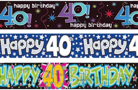 40th birthday decorations uk 40th birthday supplies partyrama co uk