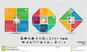 Vector Template For Cycle Diagram  Graph  Presentation And Round Chart Stock Illustration
