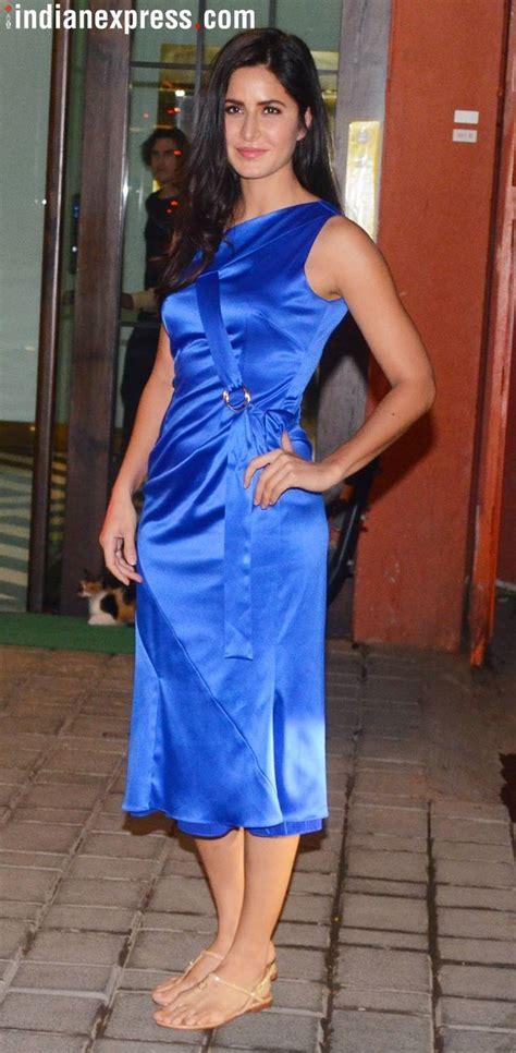 katrina kaifs cobalt blue dress  give   eyesore