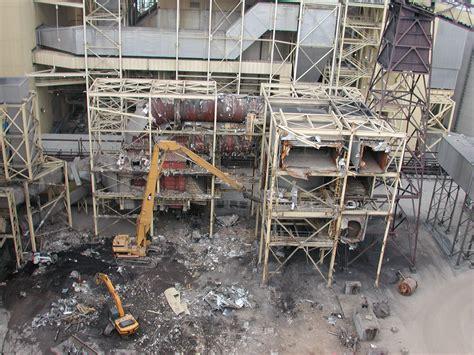 demolition decontamination nadc power plant