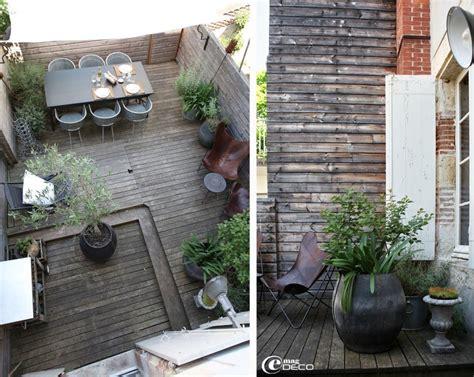 deco terrasse maison de ville jardin exterieur deco