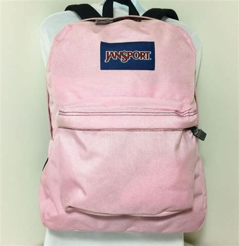 light gray jansport backpack jansport superbreak classic light pink and black 100