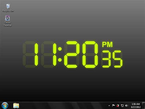Digital Lock Wallpaper by Fading Digital Clock Wallpaper Free And Review