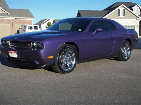 Plum Purple Challenger by 2009 Challenger R T Owner Goes Plum
