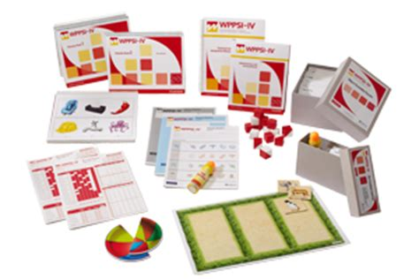 wechsler preschool and primary scale of intelligence 528 | wppsi iv kit