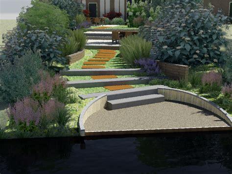 tuin aan water moderne natuurlijke tuin aan het water deventer
