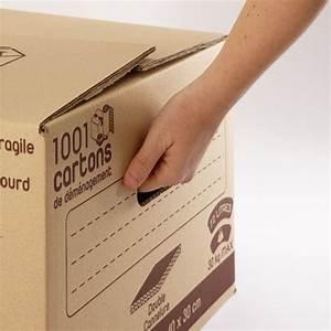 Carton De Déménagement Pas Cher : carton double cannelure 72 litres ~ Melissatoandfro.com Idées de Décoration