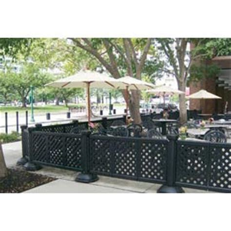 outdoor furniture equipment patio fence grosfillex