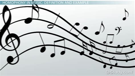 homophony in music definition exle video lesson