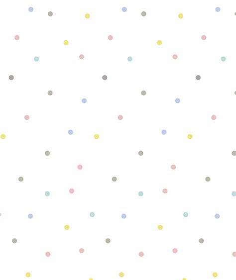 papier peint bebe garcon papier peint enfant 224 pois multicolores