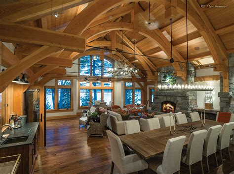 energy works timber frame projects win awards   annual timber home living  timber