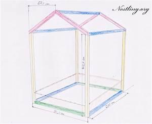 Bett Als Haus : bodenbett f r kinder floor bed selber bauen nestling ~ Lizthompson.info Haus und Dekorationen