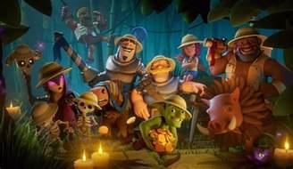 Jungle Goblins Clash Arena Royale