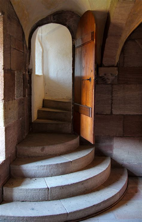 Free Images Architecture Wood Staircase Arch Castle
