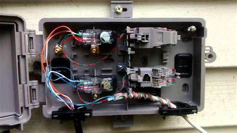 Demarc Box Wiring Diagram by New Dsl Pots Splitter 10mbps