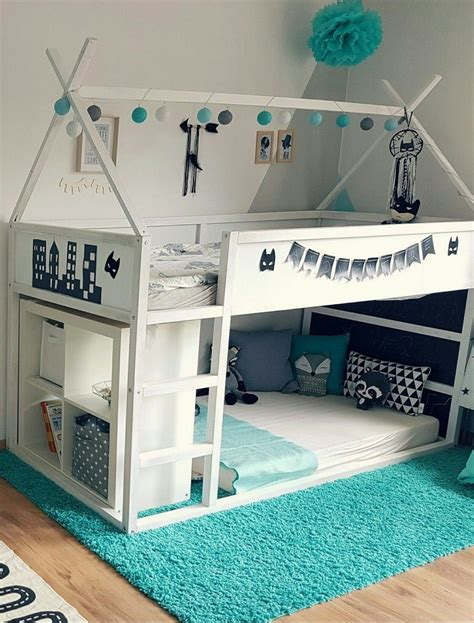 Kinderzimmer Ideen Bett by Ikea Kura Hausbett Kinderzimmer Diy Quot Leosmum
