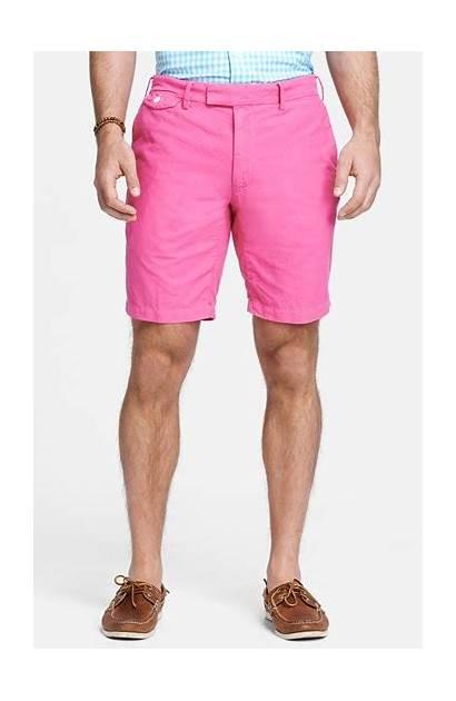 Shorts Pink Polo Ralph Lauren Oxford Neon