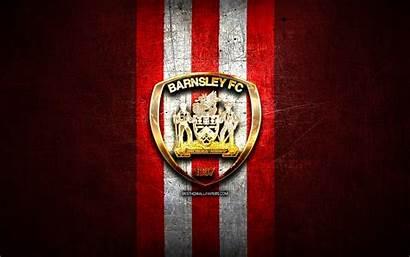 Barnsley Fc Efl Championship Football Golden Metal