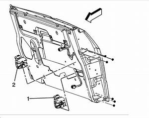 2004 Gmc Envoy Xuv Tailgate Parts Diagram
