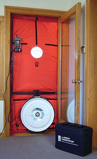 blower door test is your house well sealed and insulated