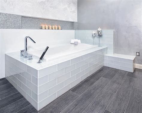 Modern Bathroom With Tub by Photo Page Hgtv