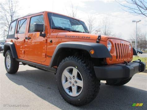 jeep wrangler orange crush crush orange 2012 jeep wrangler unlimited rubicon 4x4