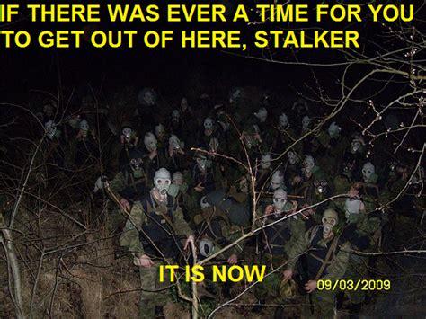 Stalker Game Memes - image 665635 get out of here stalker know your meme