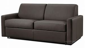 canape convertible cuir systeme rapido dream verysofa With canape cuir marseille