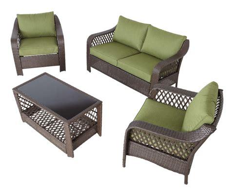 reclining garden chairs asda sumatra olive conversation set garden garden furniture
