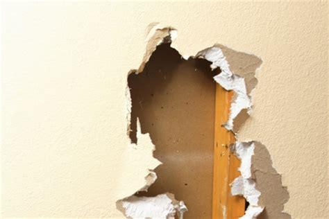 water damage restoration fix walls ceilings diy
