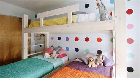 Inspirasi Desain Kamar Tidur Untuk Tiga Anak