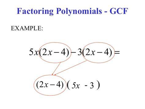 greatest common factor worksheets kuta greatest common