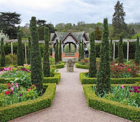 Formal English Garden Stock Photo Image Of England