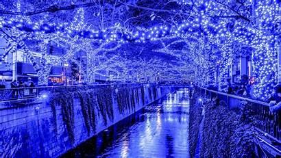 Christmas Lights Tokyo Desktop Definition Widescreen