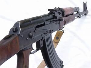 Deactivated Russian made Kalashnikov AKM assault rifle ...