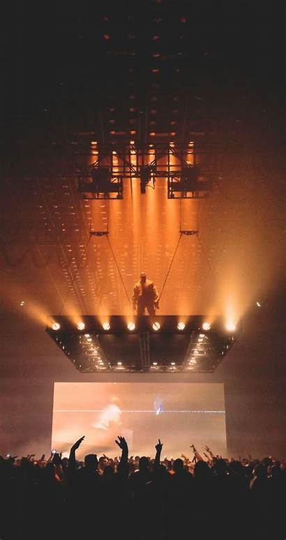 Kanye West Wallpapers Iphone Pablo Saint Stage
