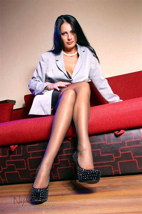 True Nylon Sample Pic 1 Sensual Model In Stockings In
