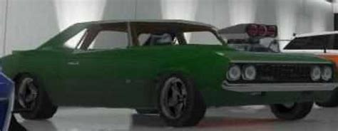 Modified Muscle Cars Spawn Location