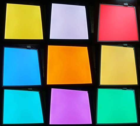 multi color change  double color  rgb led panel